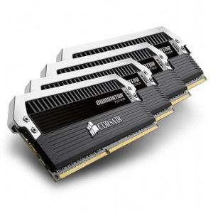 Corsair CMD32GX3M4A1866C10 - Barrettes mémoire Dominator Platinum 4 x 8 Go DDR3 1866 MHz CL10 240 broches