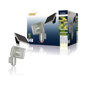 Ranex 5000.430 - Applique solaire avec détecteur de mouvement aluminium 500lm