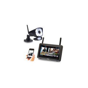 """Switel HSIP6000 - Ensemble Caméra sans fil intérieur/extérieur + tablette monitoring de 7"""""""