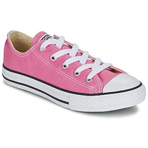 Converse Chuck Taylor All Star Core Ox, Baskets Mode Mixte Enfant - Rose (Pink) - 35 EU
