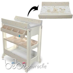 meuble baignoire table a langer bebe comparer 12 offres. Black Bedroom Furniture Sets. Home Design Ideas