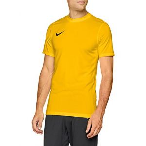 Nike 725891-739 Maillot Homme, University Gold/Noir, FR : 2XL (Taille Fabricant : 2XL)