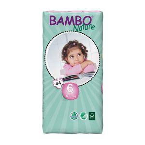 Bambo Nature Couches écologiques taille 6 XL 16-30 kg - paquet de 44