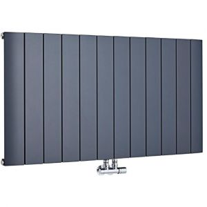 hudson reed aldrass6001135 radiateur design horizontal. Black Bedroom Furniture Sets. Home Design Ideas