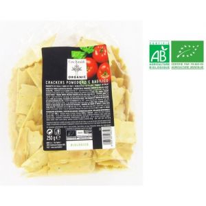 Casa Rinaldi Crackers aux tomates et basilic - 250 g