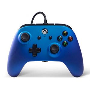 PowerA Manette filaire Xbox One Enhanced - Sapphire Fade