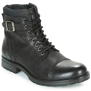 Jack & Jones Boots Jack Jones ALBANY LEATHER Noir - Taille 45