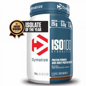 Dymatize nutrition Compléments alimentaires pour sportifs Dymatize Iso 100 900gr - Taille Fudge Brownie