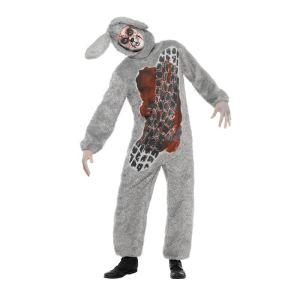 Déguisement lapin écrasé Halloween (taille M)