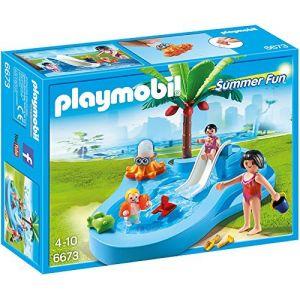 Playmobil 6673 Summer Fun - Bassin pour bébés et mini-toboggan