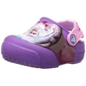Crocs Fun Lab Lights Frozen Clog, Mixte Enfant Sabots, Rose (Berry), 30-31 EU