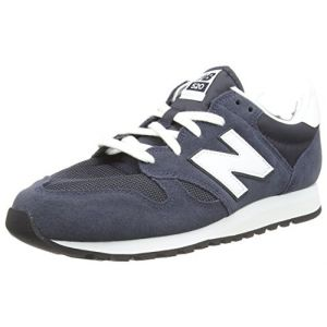 New Balance U520v1, Baskets Mixte Adulte, Noir (Black), 43 EU