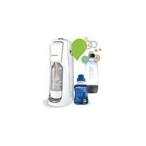 Sodastream Jet Zéro Pack - Machine à gazéifier l'eau + 1 bouteille + 1 concentré cola zéro