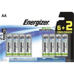 Energizer 8 piles AA LR06 EcoAdvanced