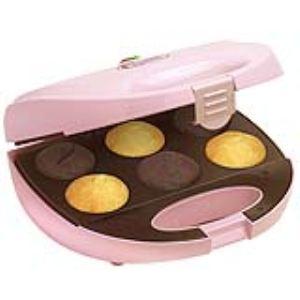 Bestron DCM8162 - Machine préparez 6 Cupcakes