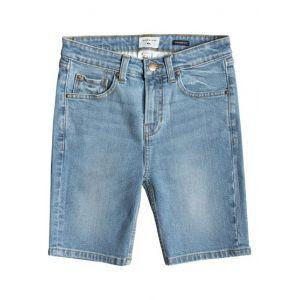 Quiksilver Short jean Fast Kneels Bleu