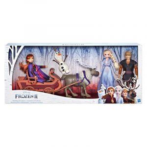 Hasbro Coffret Traîneau et poupées La Reine des Neiges 2