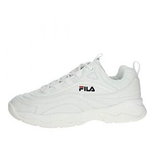 FILA Ray Low Wmn - Baskets Femme, Blanc
