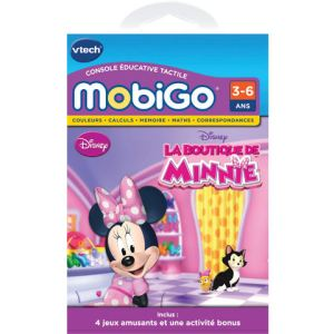 Vtech Jeu Mobigo La Boutique de Minnie