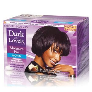 Dark & lovely Superior Moisture Plus - Défrisant moyen