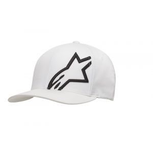 Alpinestars Casquette Corp Shift 2 Flexfit blanc/noir - S/M