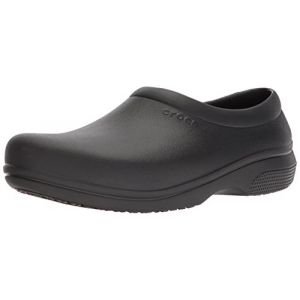 Crocs On The Clock Work Slipon, Mocassins Mixte Adulte, Noir (Black) 38/39 EU