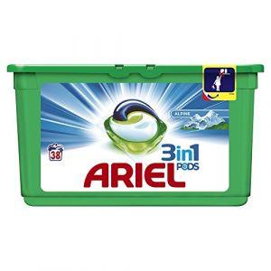Ariel Lessive 3 en 1 Pods Alpine 38 doses