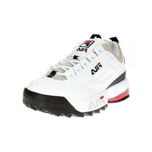 FILA Chaussures disruptor cb low white blanc - Taille 40,41,42,43,44,45