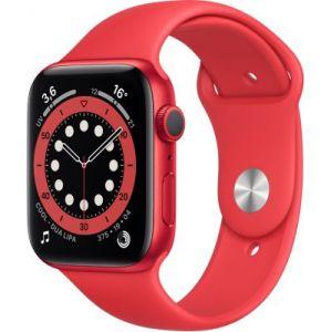 Apple Watch 44MM Alu Rouge/Rouge Series 6 - Montre connectée