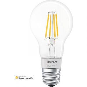 Osram Ampoule led E27 filament 5,5 watt dimmable compatible Apple Home Kit SMART+ - Protocole - HomeKit