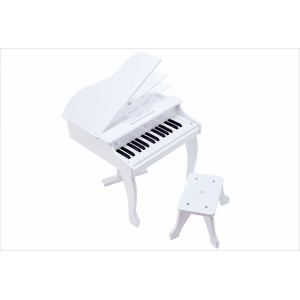 Hape Piano à queue électronique blanc