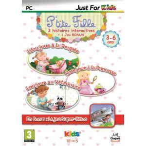 P'tite Fille - Lilou joue à la Poupée + Rose joue à la Princesse + Super-Héros [PC]