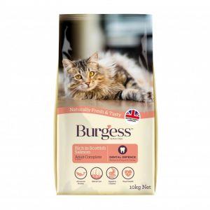 Burgess Supacat Croquettes pour chat adulte Saumon écossais 10 kg