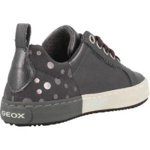 Geox Kalispera A, Sneakers Basses Fille, Gris (DK Grey), 31 EU