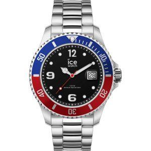 Histoire d'Or Ice-Watch - ICE steel United silver - Montre argent pour homme avec bracelet en metal - 016547 (Large)