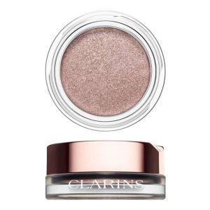 Clarins Ombre Iridescente 05 Silver Pink - Fard à paupières iridescent crème poudre, longue tenue