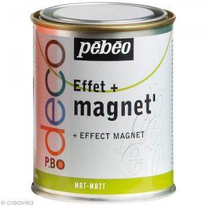 Pebeo Peinture magnétique effet magnet Mat - 250ml