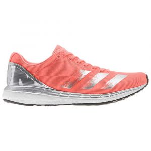 Adidas Adizero Boston 8 Chaussures Femme, signal coral/silver metal/footwear white UK 5 | EU 38 Chaussures running sur route