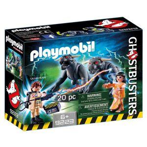 Playmobil 9223 - Ghostbusters : Venkman et les chiens des ténèbres