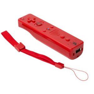 Under Control Télécommande Wiimote Wii Motion Plus- Rouge