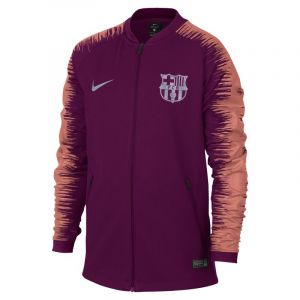 Nike Veste de football FC Barcelona Anthem Enfant plus âgé - Rouge - Taille S