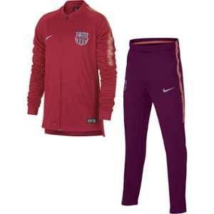 Nike Survêtement de football FC Barcelona Dri-FIT Squad pour Enfant plus âgé - Rose - Taille L