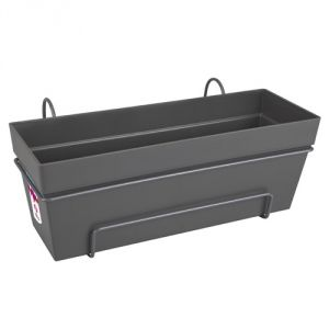 Elho Loft Urban Trough All-in-1 50 - Bac balcon 49,3 x 25 cm