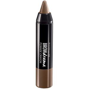 Maybelline Brow Drama Pomade Medium Brown - Cire à sourcils en crayon
