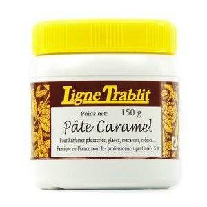 Ligne Trablit trablit Pâte de caramel pour pâtisserie - Pot 150g