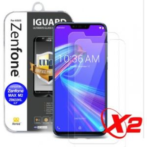 Ibroz Protège écran ZenFone Max M2 Verre trempé x2