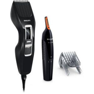 Philips Coffret tondeuse : HC3410/85 + NT1150 (tondeuse à cheveux Haiclipper DualCut et tondeuse nez et oreilles)