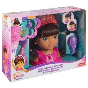 Mattel Tête à coiffer Dora Ballerine