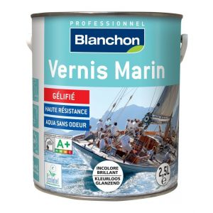 Blanchon Vernis marin - Incolore doré brillant 2,5 L
