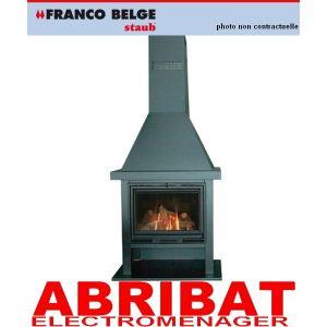 Franco Belge 134 10 26 - Poêle à bois Flamboyante